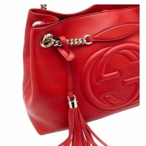 Gucci Bags - Gucci Soho Leather Chain Shoulder Bag